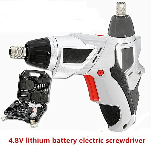 4.8V Electric screwdriver multi-function rechargeable hand drill electric screwdriver set power tool