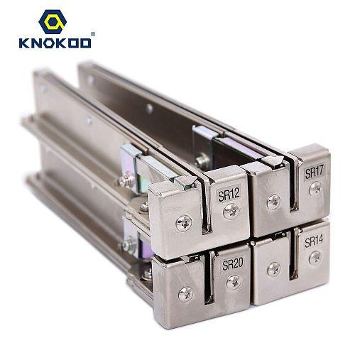 KNOKOO NSB Automatic Screw Feeder Series Rail SR10 SR12 SR14 SR17 SR20 SR23 SR26 SR30 for NSB Series Auto Screw Dispenser