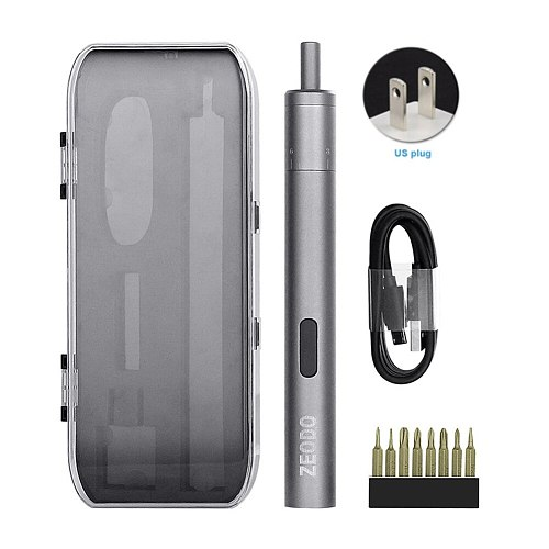 Lightweight USB Portable Cordless Anti-beating Charging Electric Mini Screw Driver