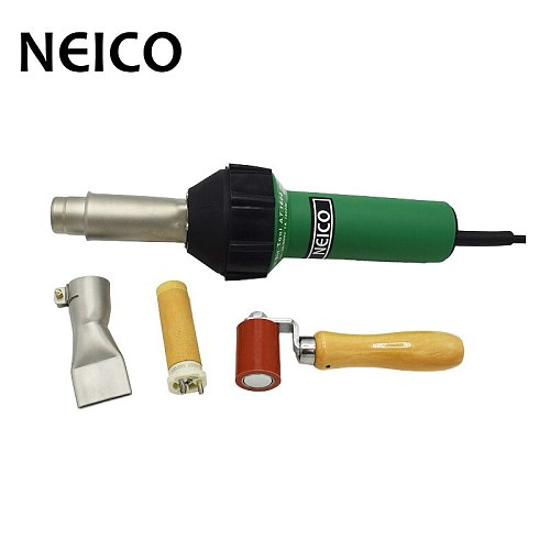 NEW AT1600 110V / 230V 1600W Intelligent Automatic Cooling Hot Air Welding Gun For Tarpaulin / PVC Banners And Roofing Welding