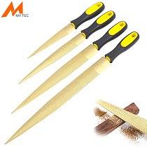 MYTEC Wood Carving Files Rasp 4''/6''/8''/10'' Wood File For Woodworking DIY Craft Gadget Carpenter Multi Tools