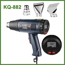 New Digital LED Electric Hot Air Gun 1800W 220V stepless Adjustable Temperature-controlled Thermal blower heat gun for Building