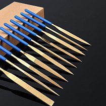 10PC Diamond Coated Needle Files Set DIY Craft Woodworking Tools Useful Tools stone jewelry metal carving tool
