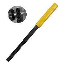 Thread Repair File Set Thread Restoring Thread Teeth Single Cut Square Shape Metric Bolt