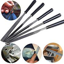 5Pcs Needle Files Set for Jewelery Metal Glass Stone Wood Carving Craft Tool Set