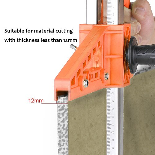 Manual Gypsum Board Cutter Hand Push Drywall Cutting Artifact Tool with Double Blade and 4 Bearings 20-500mm Cutting Range