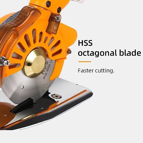 300W Electric Scissors Tailor Fabric Sewing Cutting Machine 220V Cordless Cloth Leather Cutting Tool HSS Blade Cutter Scissor