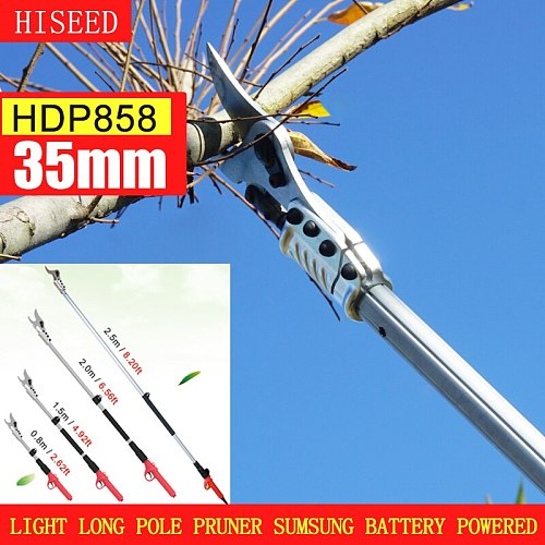Best quality electric pole pruner (super light and long extension pruner work 8 -10 hour a day)