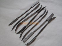 8pcs 190mm Double Ended Riffler Wood Rasp File Set Woodworking Carving