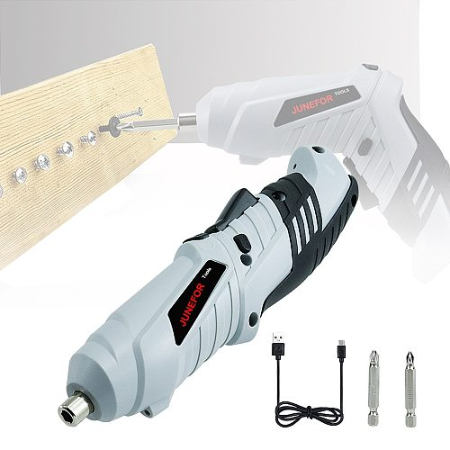 Electric Screwdriver Mini Screwdriver Set Electric Power Tool 3.6V Lithium Rechargeable Drill Electric Screwdriver Cordless