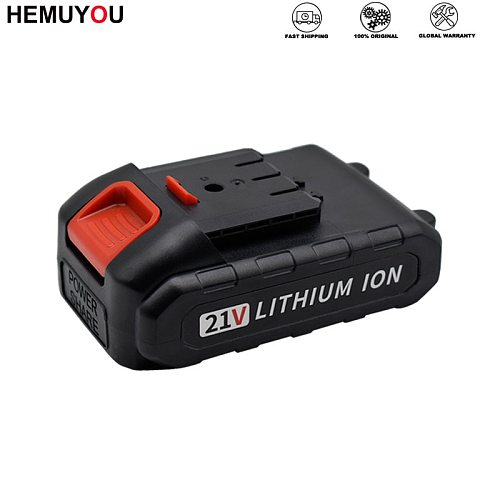 21V Rechargeable Lithium Battery Can Be Used In Electric Screwdriver Drill Household Power Tool Electric Screwdriver Accessories