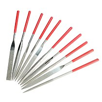 XCAN Diamond File Set 3x140mm 5x180mm Mini Needle File For Stone Glass Metal Carving Craft Hand Tools Needle File Set