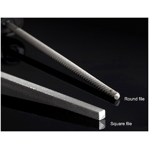 Stanley 1pcs 6  8 inch 10  12-inch square file round files cutter rasp for Jewellery carver metal ceramics stone wood working