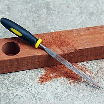 6Pcs 140/160/180mm Mini Metal Filing Rasp Needle File Wood Tools Hand Woodworking
