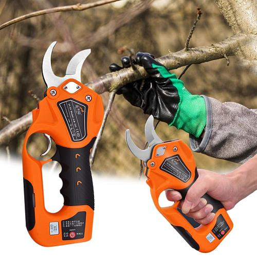 8V150W Cordless Electric Pruner Pruning Shear Efficient Fruit Tree Bonsai Pruning Branches Cutter Landscaping