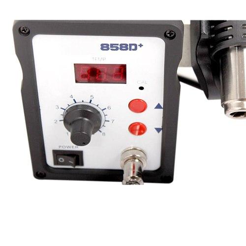 110V/220V 700W  858D+ Soldering Station LED Digital Solder Iron Desoldering Station BGA Rework Solder Station Hot Air Gun