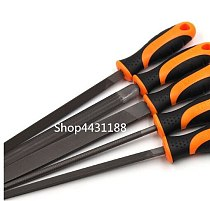 8 High Quality Files Set Multi-function Carbon Steel Triangular/Square/Round/Half Round Flat Files Hand Tool Set Whole L=320mm