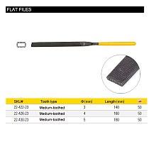 Stanley 1pcs flat/half round/round file mini needle machinist files 3x140mm 4x160mm 5x180mm hobby art jewelry wood working tools