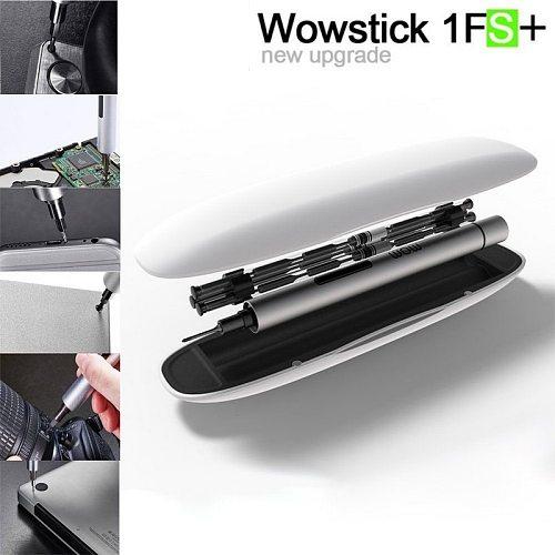 Wowstick 1P 1F Pro Electric Screwdriver Kit  56pcs Bit Set Magnetizer Mini Precision Cordless Power Screw Driver Kit