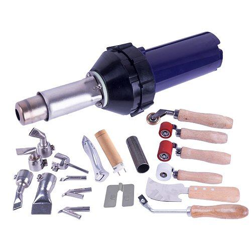 Plastic hot air welding gun torch heat gun pistol vinyl pvc floor welder for PP PE water tank geomembrane sheet LESITE LST1600A