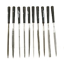 10Pc/set Needle File Set Files For Metal Glass Stone Jewelry Wood Carving Jade Cearmic Polishing Craft Tools P0.05 Hand Tools