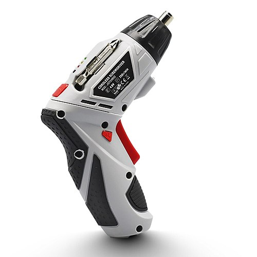 4.8V Electric Screwdriver Cordless Drill With 45 Bits Mini Wireless Power With LED Light Dremel Multi-function House Power Tools