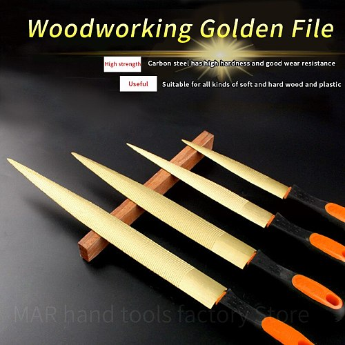 Wood Grinding Hand File4''/6''/8''/10''/12'' Wood Rasp File SetWood Carving Files Steel File For Woodworking DIY Craft Tool