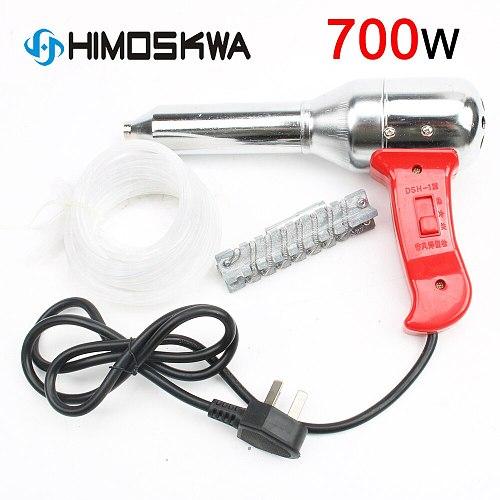 700W plastic welding torch hot air gun 100-450 degrees voltage 220v-240v current 50-300L Min adjustable temperature tools