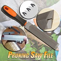 Pruning Saw File T12 Bearing Steel Rasp File Carpentry Woodworking Hand Tool