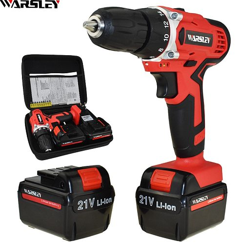 New Style 21v Electric Screwdriver Electric Drill Screwdriver Cordless Electric Mini Batteries Screwdriver Power Tools Drill