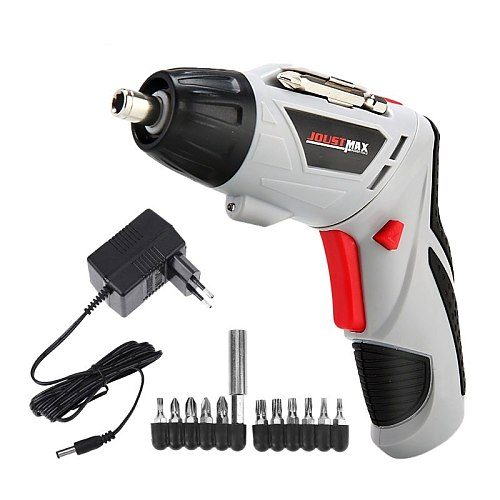 Mini 4.8V Electric Screwdriver Dremel Cordless Drill Wireless Power With LED Light  Multi-function DIY Power Tools  45/15 Bits