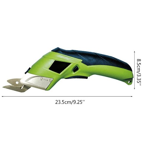 4V Cordless Rechargeable Handheld Electric Scissors Multipurpose for Fabric Leather Cloth Sewing Cutting Tailor Scissor