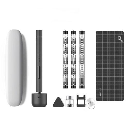 Wowstick Electric Screwdriver 1F+ Pro 1P+ 1P Pro Mini Precision Cordless Rechargeable Driver Kit with 56pcs Drill Bits/LED Light