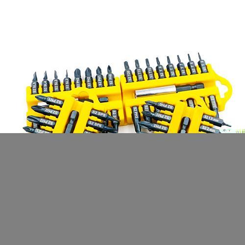 17 PCS Electric Screwdriver Bit Set Magnetic Holder S2 Alloy Steel Hex Shank Magnetic Holder