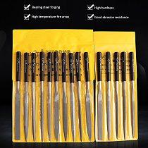 10pcs Hard Metal File Wood Rasp Files Needle Carving Tools Tool Sanding Woodworking Jewelry Wood Polishing Grinding Hand Tools