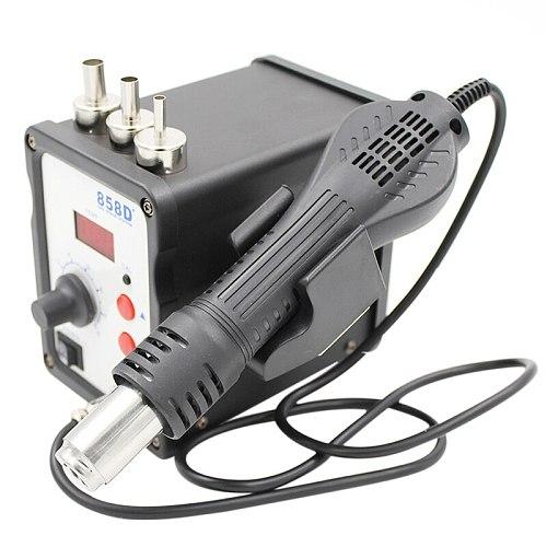 858D+ Hot Air Soldering Station 110V / 220V 700W LED Digital Solder Heat Gun Rework Station ESD SMD SMT Welding Repair Machine