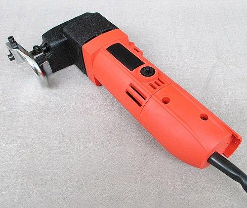 Electric Sheet Metal Shear Snip Scissor Cutter 580W 2.5mm Cutting Capacity Secateurs for Cutting Metal Board