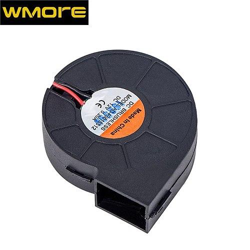 WMORE Hot air gun fan Soldering Hairdryer Gun Brushless Blower Fan 12V 24V 0.20A for 8858 8586 858D solder station top quality