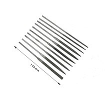 10Pcs Small Needle Files Set 140mm Jewelry Tools Beading Hobby Crafts Carving Repair Cutting Tool