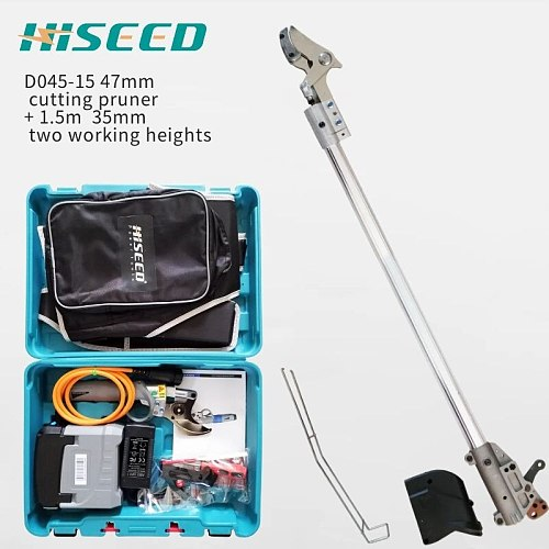 47mm cutting hand pryner +  High tree pruner telescopic (35mm cutting light long arm pruner )