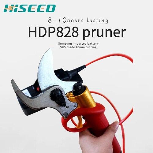 electric pruning shear garden pruner Vineyard scissors cutting diameter 40MM