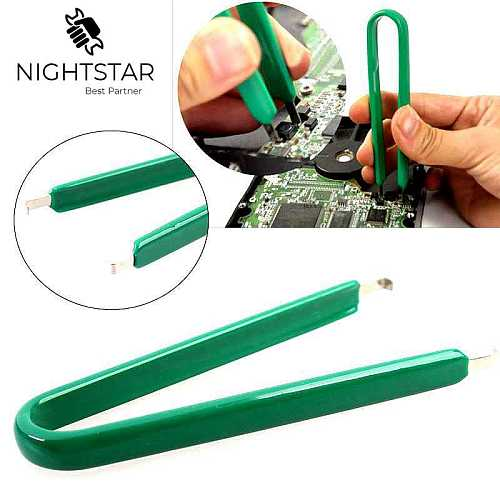 U Type Flat IC Chip Protection Pliers ROM Circuit Board Extractor Removal Puller Pull up Machine Clip repair tool