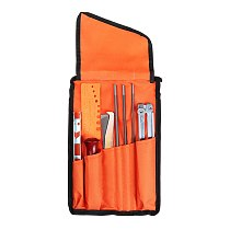 10pcs Chainsaw Sharpening Sanding File Tool Set for Woodworking Grinding Chain Sharpen Saw Sanding Filing Kit
