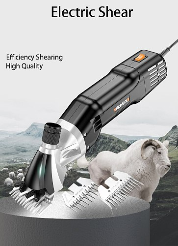 800W Wool Cutting Machine Electric Sheep Goat Shearing Machine Clipper Cutter Wool Scissor shears
