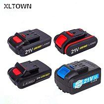 XLTOWN 12V/16.8V/21V/18V Power Lithium Battery Large Capacity Cordless Electric Screwdriver Battery Mini drill lithium battery