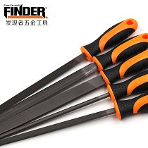 FINDER 200mm/ 8   Files Multi-function Carbon Steel Triangular, Square, Round, Half Round, Flat Files Wood Metal Files Set