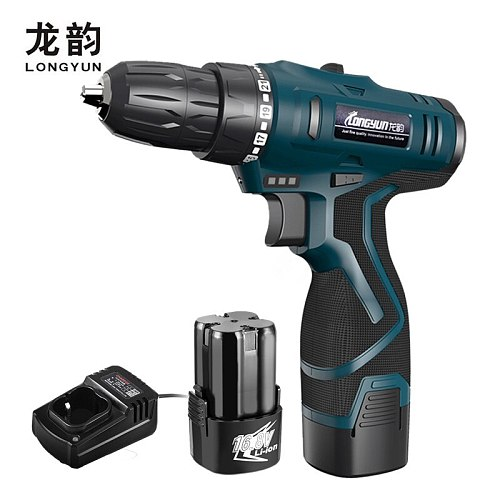 LOMVUM 16.8V 25V Lithium Battery Electric Screwdriver Multifuctional Wrench 12V Cordless Screwdriver Electric Drill Power Tools