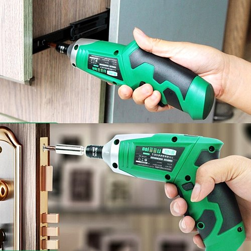 LAOA 3.6V Portable Electric Screwdriver  Chargeable Battery Electric Drill 19 In 1 Cordless Drill DIY Power tools