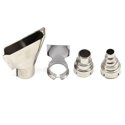 Heat Gun Air Nozzles Hot Air Gun Hair Dryer Soldering Hairdryer Gun Electric Kit Accessories Industrial Tools Shrink Wrap 35mm
