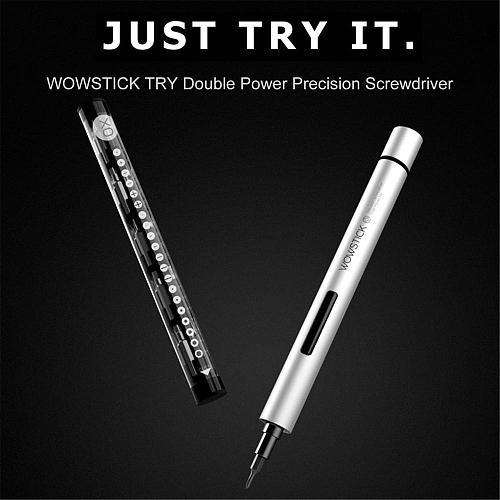 Wowstick TRY Mini Electric Screwdriver Kit Handheld Power Screw Driver Multifunctional Hand Drill For Phone Camera Repair Tool